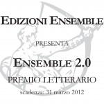 """""""Ensemble 2.0"""" il nuovo premio letterario di Edizioni Ensemble"""