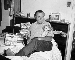 bukowski with doll
