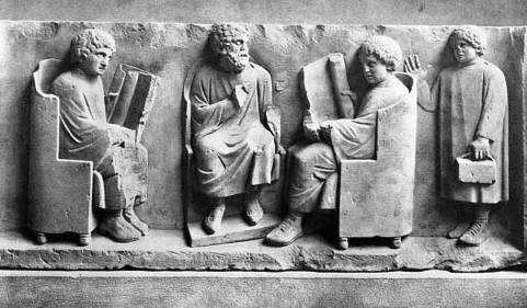 Epigrammi funerari greci // 1 # Traduzione e curatela di Mario Massimo