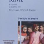 """Due libri della collana """"Sestante"""" della SEI: Le """"Rime"""" di Dante Alighieri e """"Dell'amore e altre storie"""" di Giovanni Boccaccio"""
