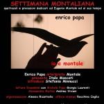 Cinque giornate per Eugenio Montale